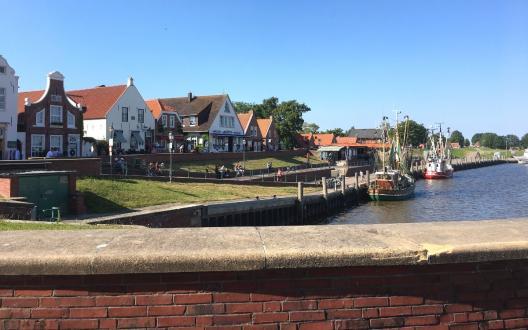 Der Hafen von Greetsiel