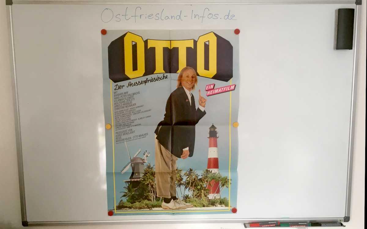 """Das damalige Filmplakat von """"Otto - Der Außerfriesische"""""""