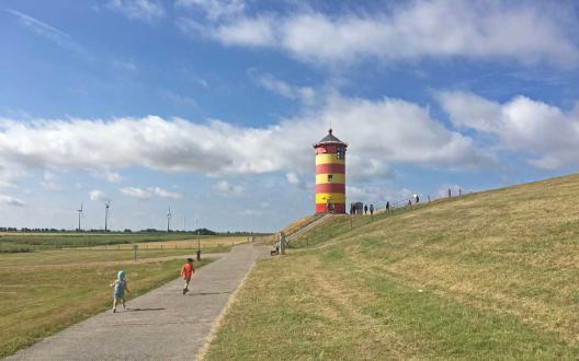 Der Pilsumer Leuchtturm alias Ottos Leuchtturm