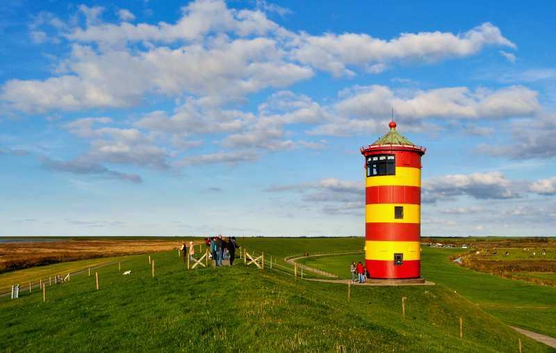 Pilsum: Der Film 'Otto - Der Außerfriesische' machte den Leuchtturm richtig bekannt